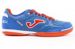 Футзалки JOMA TOP FLEX 904 ROYAL INDOOR (артикул: TOPW.904.IN) (сине-оранжевые)