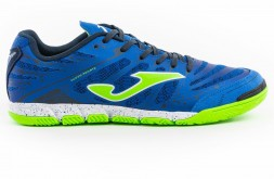 Футзалки JOMA SUPER REGATE 904 ROYAL INDOOR (артикул: SREGW.904.IN) (сине-зеленые)